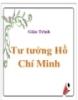 Sách học Tư tưởng Hồ Chí Minh
