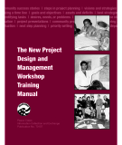 The New Project Design and   Management  Workshop Training   Manual