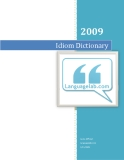 Idiom Dictionary 2009