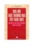 Sửa đổi luật thương mại Việt Nam 1997 phù hợp với pháp luật và tập quán thương mại quốc tế