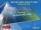 Tra cu lnh trong Autocad 2007