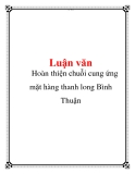 Hon thin chui cung ng mt hng thanh long Bnh Thun