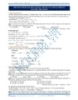 Phương pháp giải bài tập đặc trưng về ancol - phenol tài liệu bài giảng