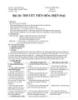 Giáo án Sinh học 12 bài 26: Thuyết tiến hóa tổng hợp hiện đại