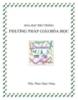 Phương pháp giải Hóa phổ thông - Phương pháp 4: Bảo toàn nguyên tố - GV: P.N.Dũng